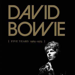 "Coffret Album Davi Bowie ""Five Years 1969-1973"""