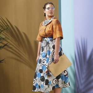 Marina Rinaldi by Stella Jean, la collaboration haute en couleur